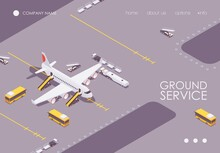 The Isometric Landing Page Of ...