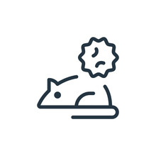 Rodent Vector Icon Isolated On...