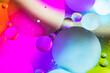 Leinwandbild Motiv Abstract Bubbles 7