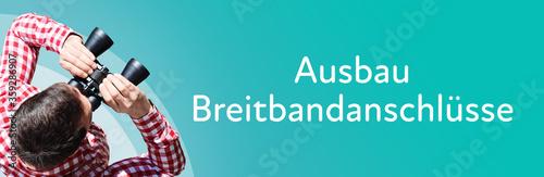 Photo Ausbau Breitbandanschlüsse