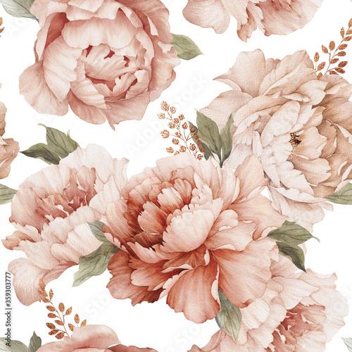 duze-kremowe-kwiaty-na-sciane