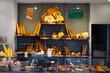 Leinwanddruck Bild - Spanish bakery shop