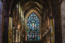 Stained Glass In Cathedral Of ...