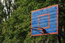 Basketball Wooden Backboard Wi...