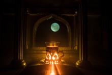 Arabian Tea In Glass Inside Ro...