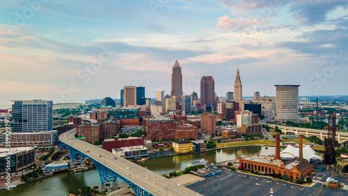 Obraz Cleveland Ohio - fototapety do salonu