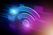 Wifi Abstract Background Illus...