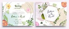 Wedding Invitation, Floral Inv...