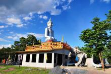 Wat Aranyawat A Beautiful Temple In Chum Phae, Khon Kaen, Thailand
