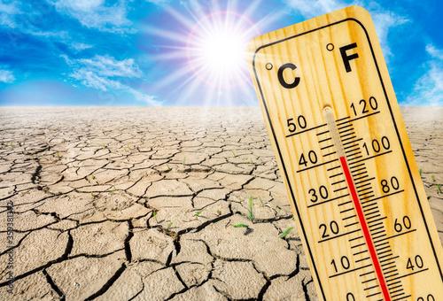 Valokuva high temperature, heat and dryness