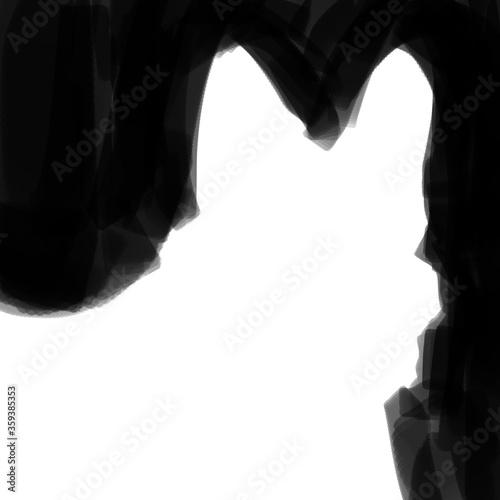 Corgi Puppy Dog Silhouette Alpha Image Canvas Print