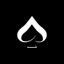 Simple Symbol Ace Logo Design