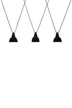 Pendant Lamps Isolated On Whit...