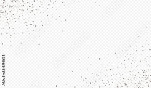 Canvastavla Silver Sequin Rich Transparent Background. Luxury