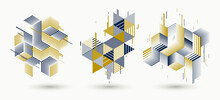 Abstract Polygonal Backgrounds...