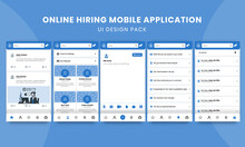 Online Hiring Mobile Applicati...