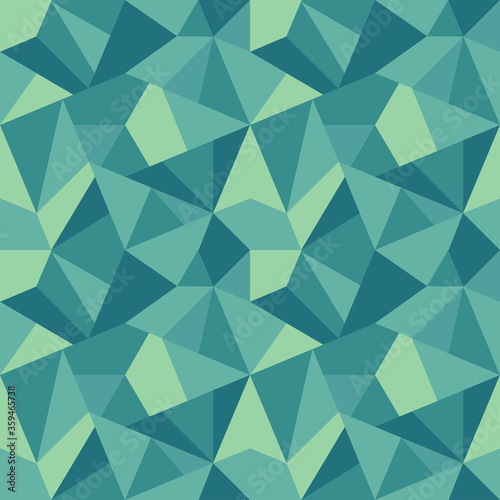 Tapeta zielona  polygonal-repeat-pattern-green-tint
