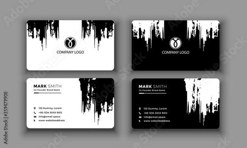 Cuadros en Lienzo Modern Creative and Clean Business Card Template. vector file.