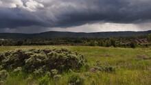 Stormy Williams Lake Bc Landscape