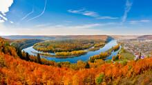 Autumn Landscape With The Rive...