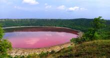 Pink Lonar Crater At Buldhana ...