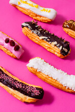 Several Eclairs With Different...