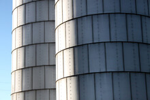 Grain Elevators And Silos With...