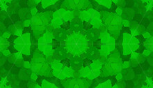 Random Green Kaleidoscope