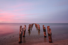 Remains Of Old Jetty At Clifto...