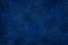 紺色の水彩背景素材