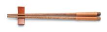 Top View Of Wooden Chopsticks ...