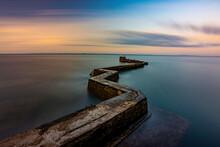 Breakwater Zig Zag Pier At St ...