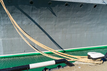An Image Of Mooring Lines.