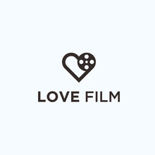 Love Movie Logo. Love Icon