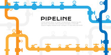 Pipelines Textured Background ...