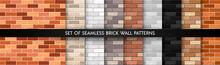 Realistic Vector Brick Wall Se...