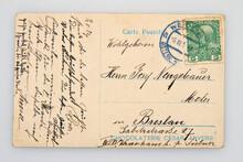 Used Old 100 Years Postcard Ba...