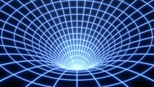 Bent Spacetime Warped Grid Wor...