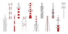 Radio Masts. Telecom Transmitt...