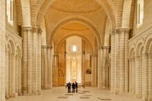 Interior Of Royal Abbey Of Fon...