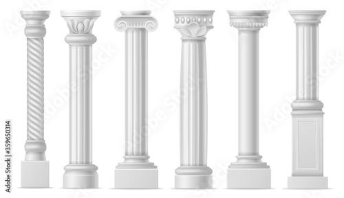 Fotomural Realistic column