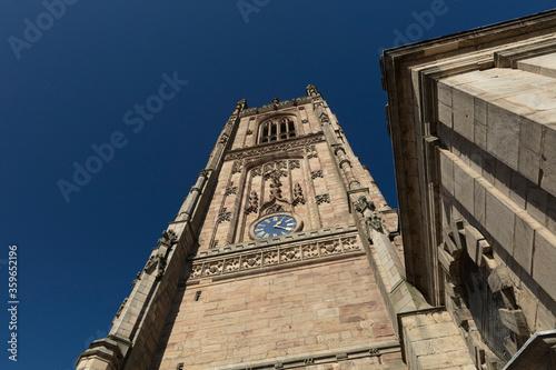 Derby, Derbyshire, UK: October 2018: Derby Cathedral of All Saints Fotobehang