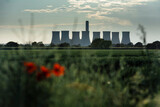 Cottam, Nottinghamshire, UK, June 2019, A view of Cottam Power Station in Nottinghamshire seen from Lincolnshire in the East