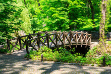 Arched Wooden Bridge In Sofiyi...