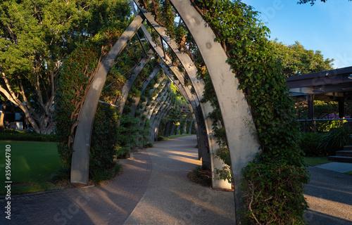 Fotografie, Tablou Brisbane's Southbank Arbour Arch