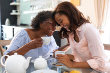 African American Women At Home...