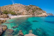 View Of Cala Granadella Beach ...