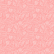 Seamless Pink Background With ...