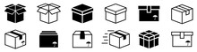 Box Simple Icon Collection. Bo...