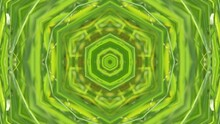 Abstract Background: Green Kaleidoscope